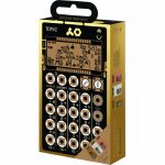 Teenage Engineering Pocket Operator Metal Series Super Set (includes PO32 Tonic, PO33 K.O, PO35 Speak & silicone cases)