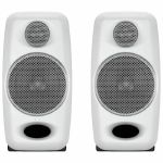 IK Multimedia iLoud Micro Monitor Studio Reference Monitor Speakers (pair, white)