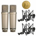Rode NT1A Cardioid Condenser Microphones (matched pair) (B-STOCK)