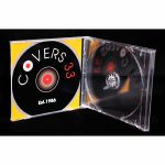Covers 33 Slim Double CD Case With Clear Tray