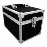 "Covers 33 7"" 45 Record Box Flight Case 100 (black) (B-STOCK)"