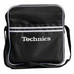 Technics Retro DJ Equipment & Vinyl Record Bag (black)