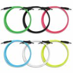 Boredbrain 3.5mm TS Male Mono 60 Inch Patch Cables (mixed colours, pack of 6)
