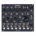 Endorphin.es Blck_Noir 7 Channel Hybrid Drum Generator Module (black faceplate)