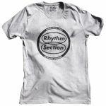 Rhythm Section Peckham Strong T Shirt (grey, extra large)