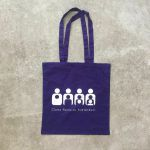 Clone Records Tote Bag (purple)