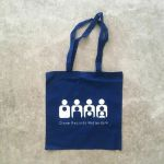 Clone Records Tote Bag (blue)