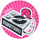 Mukatsuku Records Are Our Friends Pink Rays 12'' Slipmats (pair) *Juno Exclusive*