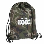 DMC Headshell Wax Drawstring Vinyl Record & DJ Bag (jungle camo)