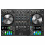 Native Instruments Traktor Kontrol S4 Mk3 DJ Controller With Traktor Pro 3 Software