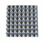 New Jersey Sound Pyramid Style Acoustic Foam Tile (grey)