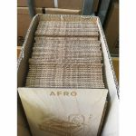 """Mukatsuku Laser Etched Wooden 7"""" Vinyl Record Divider (wooden divider with Afro name) *Juno Exclusive*"""