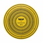 Tonar 12 Inch Acrylic Stroboscopic Disc (50 & 60Hz compatible)