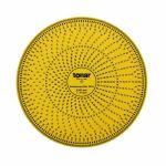 Tonar 12 Inch Acrylic Stroboscopic Disc For Calibrating Turntable Speed (50 & 60Hz compatible)