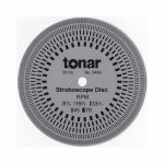 Tonar 10cm Aluminium Stroboscopic Disc (50 & 60Hz compatible)