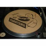 Mukatsuku Outline Logo 12'' Cork Slipmat (single) *Juno Exclusive*