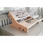 Synths & Wood Plain MDF End Cheeks Dual Stand Mk2 For Roland Boutique Series Synthesiser