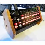 Synths & Wood Precision Recessed Solid Oak End Cheeks Stand For Korg SQ1 Sequencer