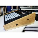 Synths & Wood Solid Oak End Cheeks Stand For Ableton Push 2 Controller