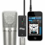 IK Multimedia iRig Pre Mic Audio Interface For iPad iPhone & iPod Touch (B-STOCK)