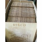 """Mukatsuku Laser Etched Wooden 7"""" Vinyl Record Divider (wooden divider with Disco name) *Juno Exclusive*"""