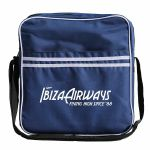 "Ibiza Airways Retro 12"" Vinyl Record DJ Flight Bag 35 (blue)"