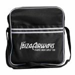 "Ibiza Airways Retro 12"" Vinyl Record DJ Flight Bag 35 (black)"