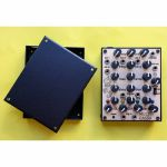 LEP Multicassa Analogue Desktop Drum Machine With Clock Divider Sequencer (aluminium box version)