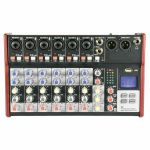 Citronic CSM8 Mixer With USB & Bluetooth Player