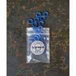 Befaco Bananuts Anodised Aluminium Custom Minijack Nuts (blue, pack of 25)