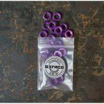 Befaco Bananuts Anodised Aluminium Custom Minijack Nuts (purple, pack of 25)