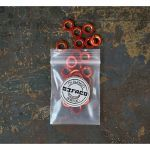 Befaco Bananuts Anodised Aluminium Custom Minijack Nuts (orange, pack of 25)