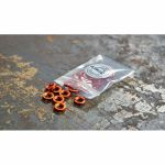 Befaco Bananuts Anodised Aluminium Custom Minijack Nuts (orange, pack of 25)
