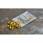 Befaco Bananuts Anodised Aluminium Custom Minijack Nuts (yellow, pack of 25)