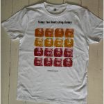 Yabby You Meets King Tubby T Shirt (white with coloured print, medium)