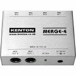 Kenton Merge 4 MIDI Merge Box *SUPPLIED WITH UK 3-PIN POWER ADAPTER* (B-STOCK)