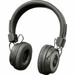 Sound LAB Wireless Bluetooth On Ear Headphones (black & silver)