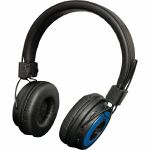 Sound LAB Wireless Bluetooth On Ear Headphones (black & blue)