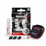 Alpine Musicsafe Pro 2019 Earplugs Hearing Protection System (black)