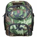 Odyssey Backspin MK2 DJ Equipment Backpack For Controller + Laptop + Accessories (green camo)