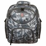 Odyssey Backspin MK2 DJ Equipment Backpack For Controller + Laptop + Accessories (grey camo)