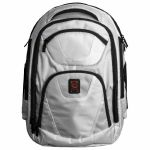 """Odyssey Backtrak XL DJ Equipment Backpack For Controller Or 10"""" Mixer + Laptop + Accessories (white)"""