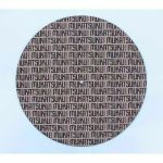 """Mukatsuku Titled Name 12"""" Cork Turntable Slipmat With Wooden Laser Etched 45 RPM Vinyl Record Adapter (single) *Juno Exclusive*"""