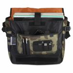 UDG Courier 12 Inch Vinyl Record Bag (black camo/orange)