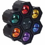 FX Lab 6 Way Pod Light With Built In Sound To Light Control