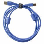 UDG Ultimate Straight USB 2.0 A-B Audio Cable (blue, 1.0m)