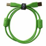 UDG Ultimate Straight USB 2.0 A-B Audio Cable (green, 2.0m)