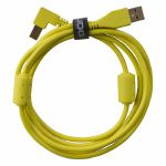 UDG Ultimate Angled USB 2.0 A-B Audio Cable (yellow, 2.0m)