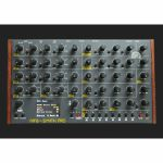 MFB Synth Pro Eight Part Analogue Polyphonic Desktop Synthesiser & Sequencer