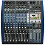 Presonus StudioLive AR12C USB C Mixer With Audio Interface & Stereo SD Recorder